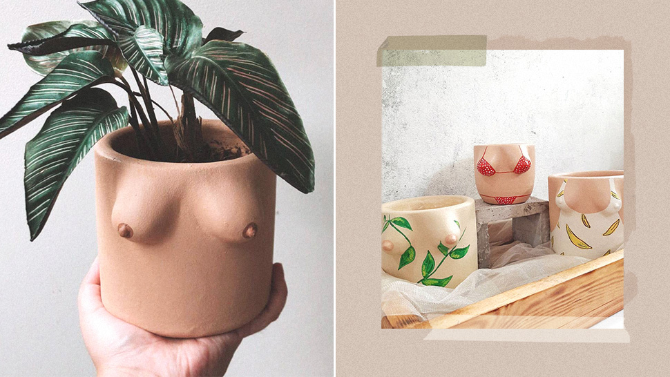 This Local Instagram Shop Specializes in Making Custom Boobie Pots