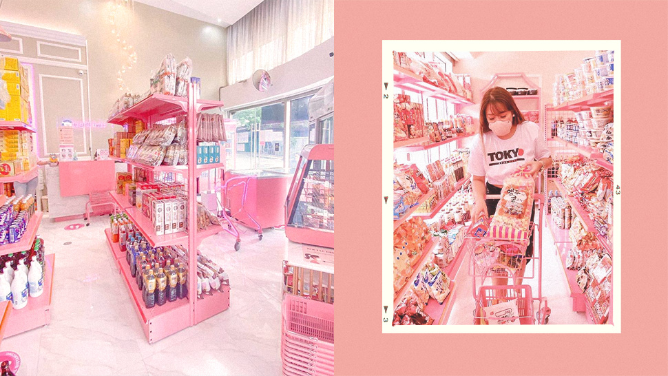 This Pink-themed Grocery Store Has All Your Favorite Korean And Japanese Snacks