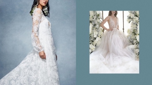 10 Stunning Lace Wedding Gowns You'll Love For Your Big Day