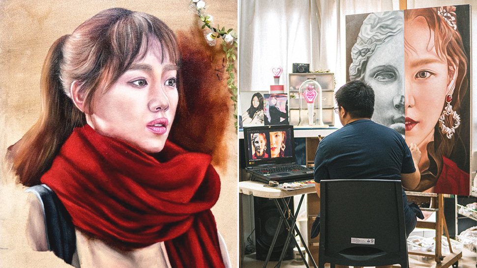 Here's How I Make a Living by Painting Korean Celebrities