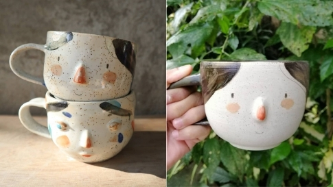 We Found The Cutest Ceramic Face Mugs You Can Buy Online