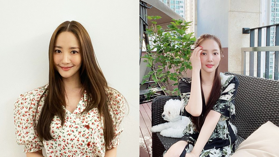 Take A Tour Of Korean Actress Park Min Young's Office With A Terrace