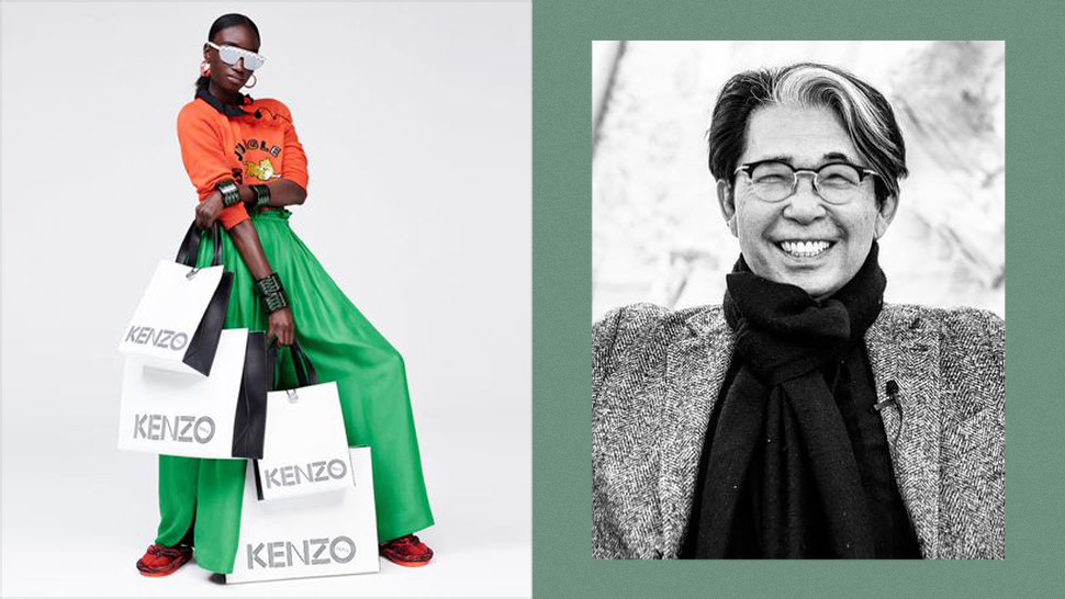 Kenzo Takada, Kenzo's Founding Designer, Dies At 81 Due To Covid-19 Complications