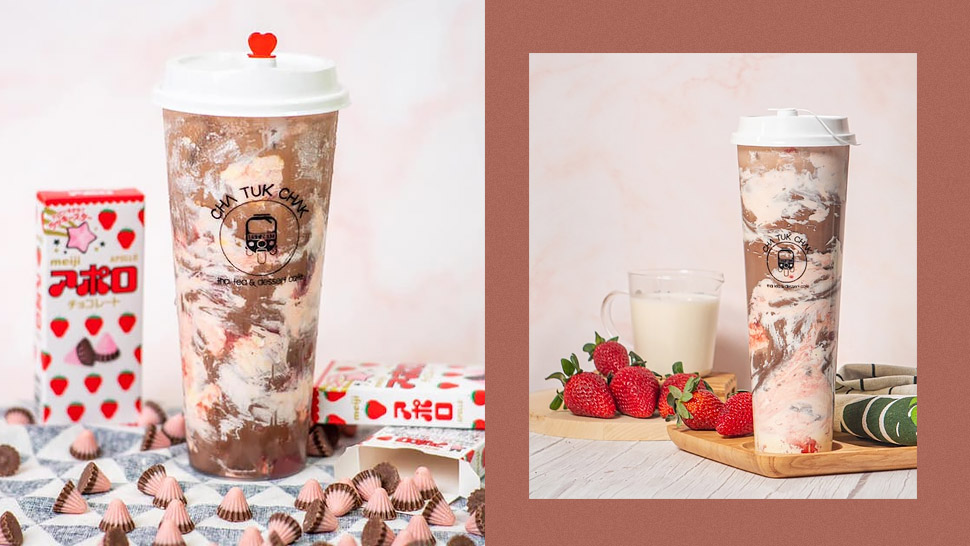 Love Meiji Apollo? You'll Love This Creamy Chocolate-strawberry Drink