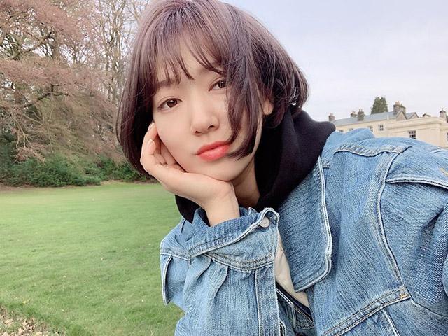Park Shin Hye Shows Off Her New Short Hair
