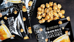 Tiger Sugar Makes Black-sugar Popcorn And Here's Where To Get It