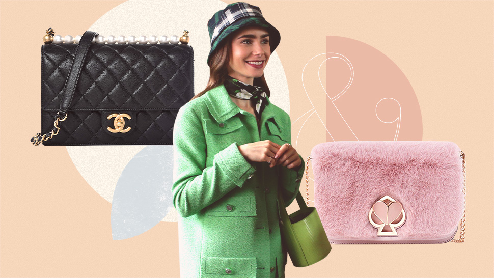 "10 Designer Bags We Spotted On Lily Collins In ""emily In Paris"""
