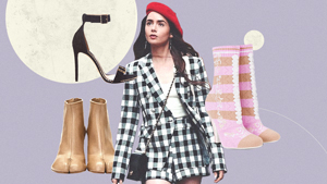 """10 Designer Shoes We Spotted On Lily Collins In """"emily In Paris"""""""