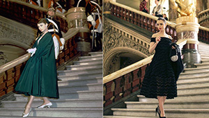 """Did You Know? Lily Collins' Evening Look In """"emily In Paris"""" Was An Homage To Audrey Hepburn"""