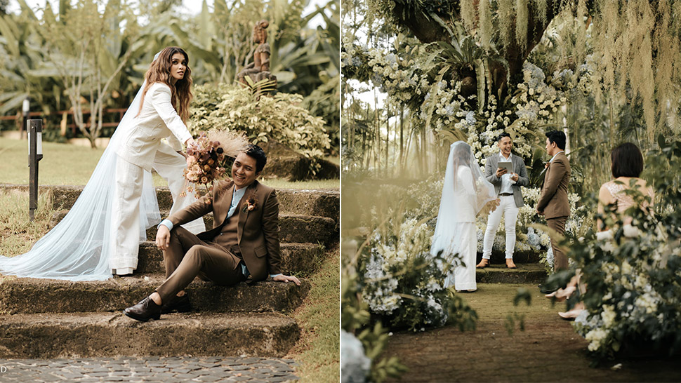 KZ Tandingan and TJ Monterde Had a Secret Garden Wedding and the Photos Are Breathtaking