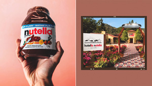 Did You Know? A Nutella Hotel Actually Existed And It Was A Chocolatey Wonderland