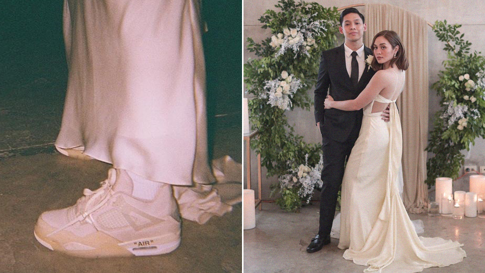 This Unconventional Bride Wore the Coolest Sneakers at Her Wedding