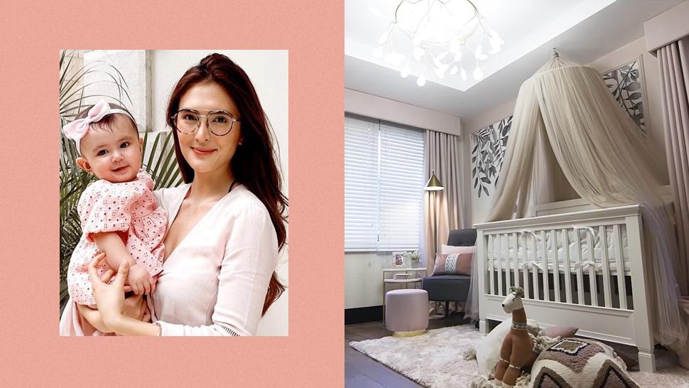 Sofia Andres' Daughter Zoe Has the Dreamiest Blush-Themed Nursery