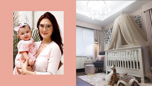 Sofia Andres' Daughter Zoe Has The Dreamiest Blush-themed Nursery