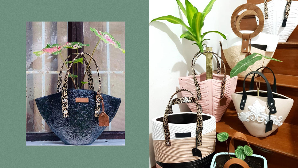 These Handbag-shaped Pots Are Perfect For Stylish Plantitas