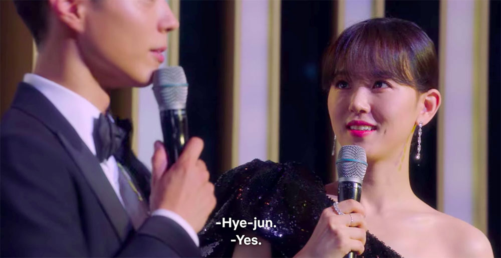 kang han na cameo on record of youth