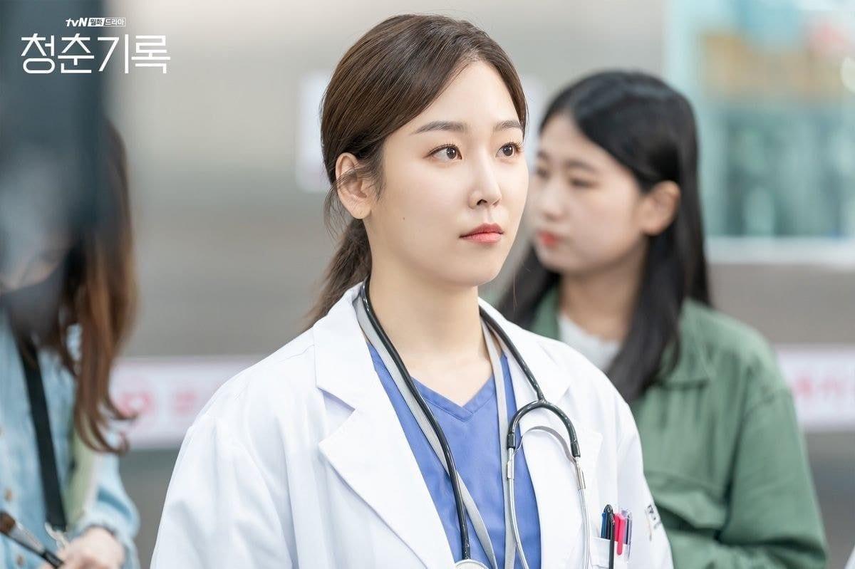 seo hyun jin cameo on record of youth