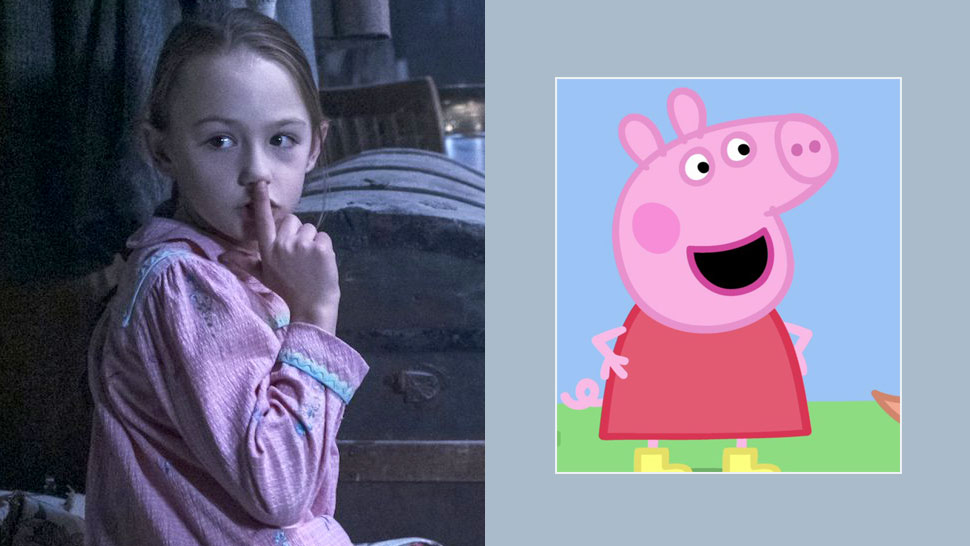 "Did You Know? The Little Girl on ""The Haunting of Bly Manor"" Also Voices ""Peppa Pig"""