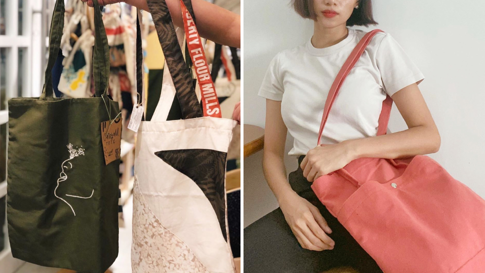 These Minimalist Tote Bags Are Perfect for Carrying Your Essentials Around