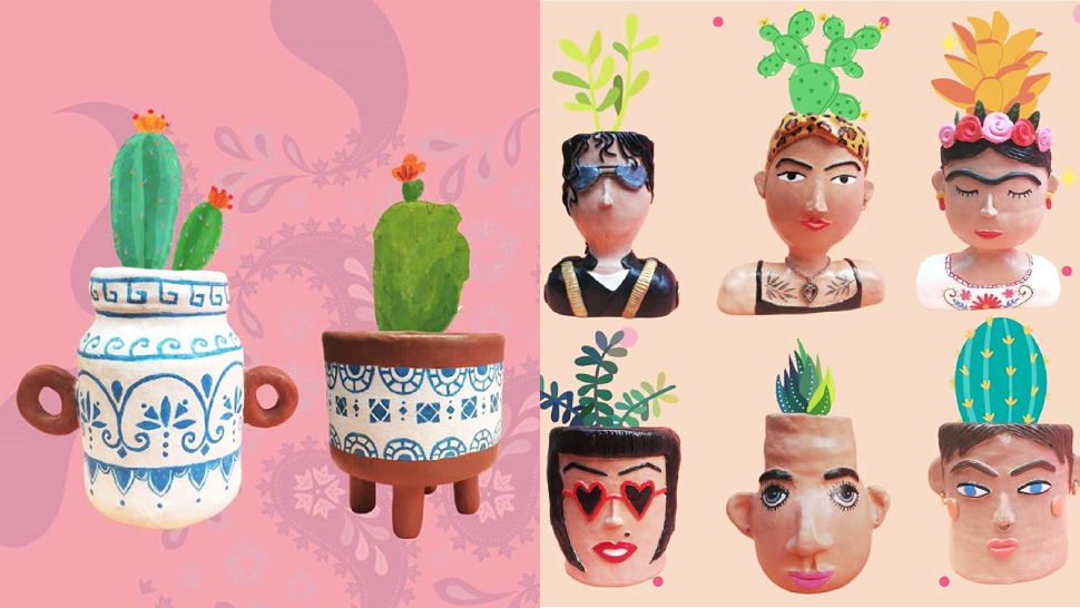 This Online Shop Sells Unique Upcycled Pots That Will Prettify Your Indoor Garden