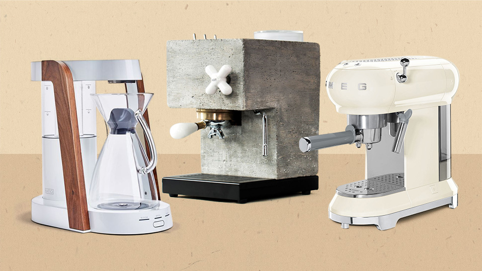 8 Aesthetic Coffee Machines You Can Buy Right Now