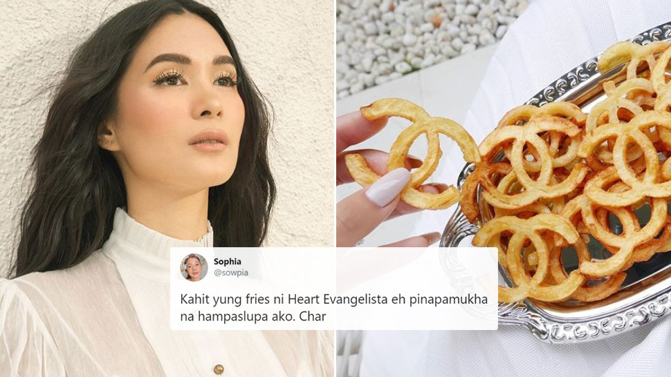 Even Heart Evangelista's French Fries Are Chanel And The Internet Is Losing It