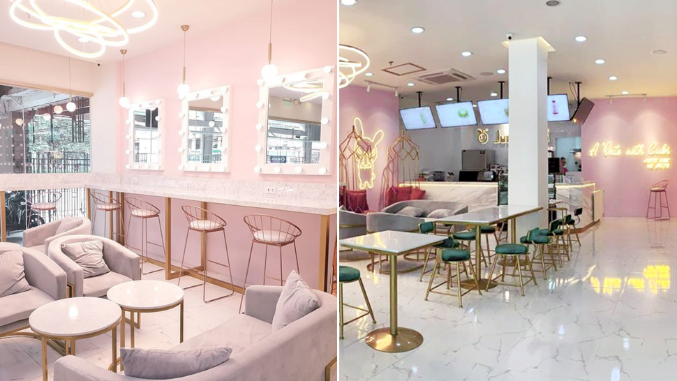 This Pastel Pink Drink Shop in Manila Is What Sweet Dreams Are Made Of
