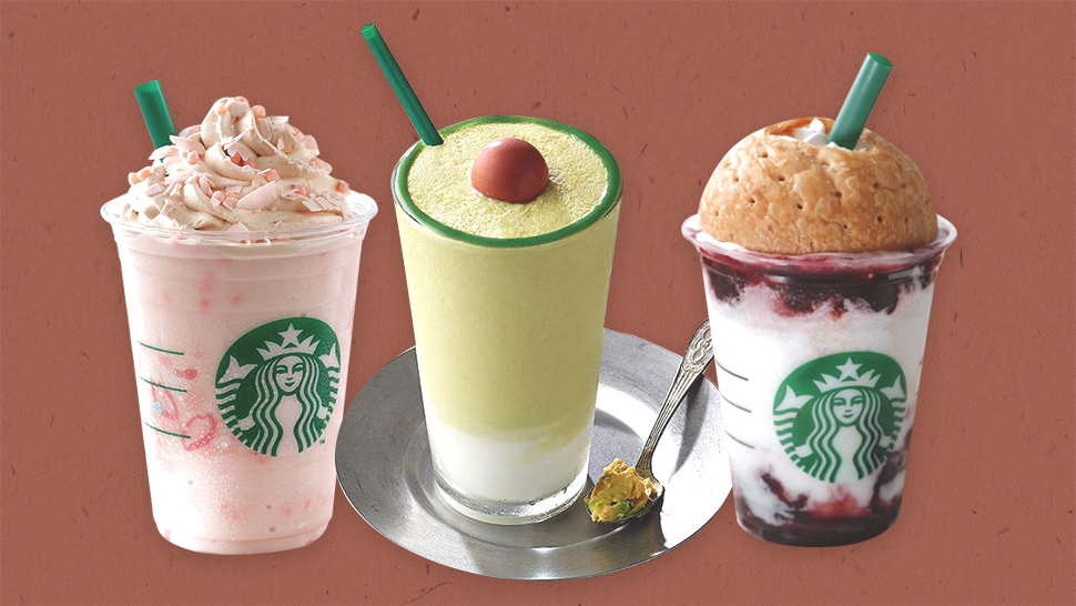 10 of the Most Unique Starbucks Drinks Around the World