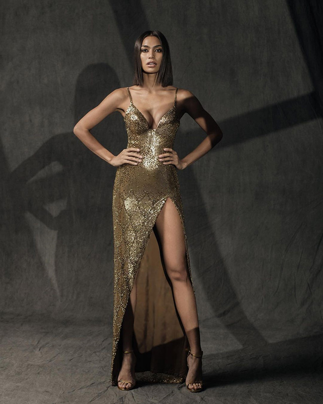 Miss Davao Alaiza Malinao's evening gown for Miss Universe Philippines 2020