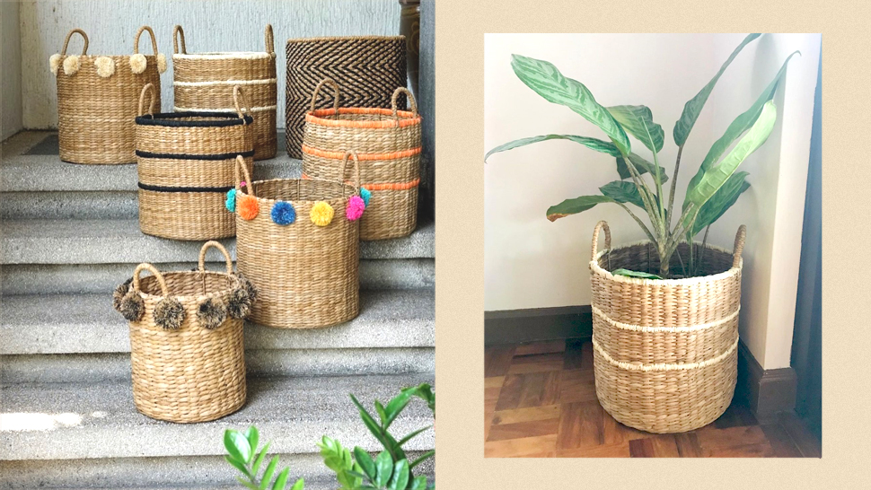 These Stylish Abaca Baskets and Home Organizers Start at P250