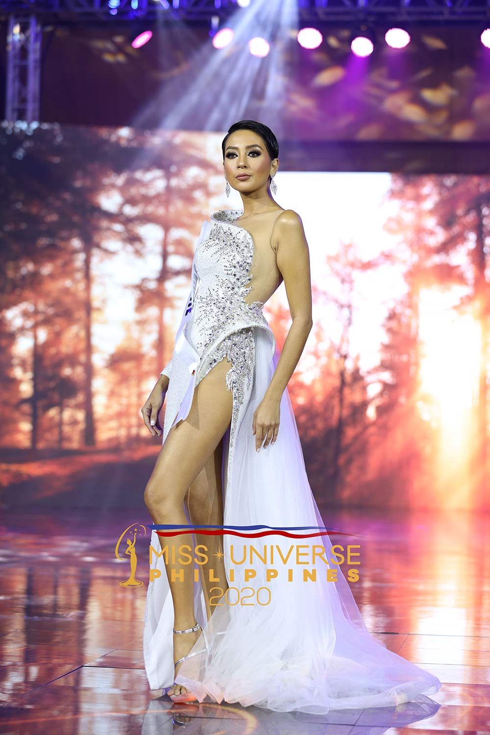miss cavite billie hakenson at miss universe philippines 2020