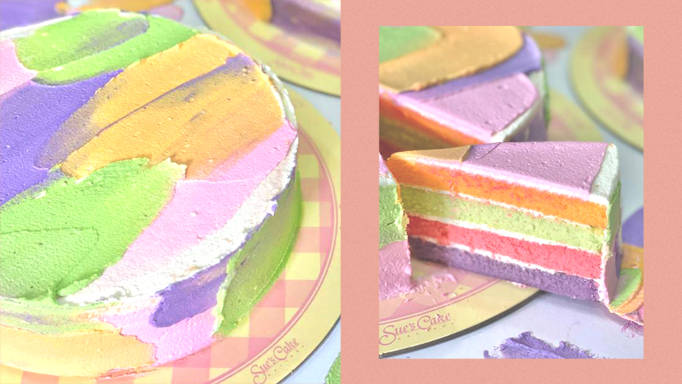 This Instagrammable Rainbow Cake Will Satisfy Your Sweet Tooth