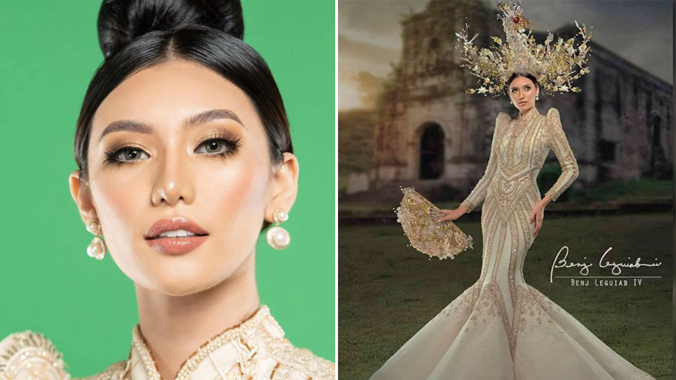 Miss Catanduanes Wore Kim Chiu's Dress as Her National Costume
