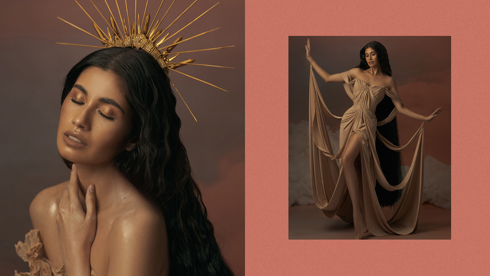 Shamcey Supsup Is a Modern Greek Goddess in This Stunning Editorial