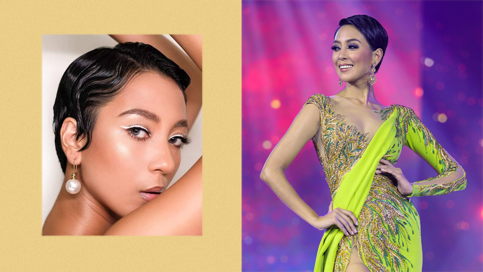 Miss Cavite Billie Hakenson's Pixie Cut Is the Chic Hair Peg You Need
