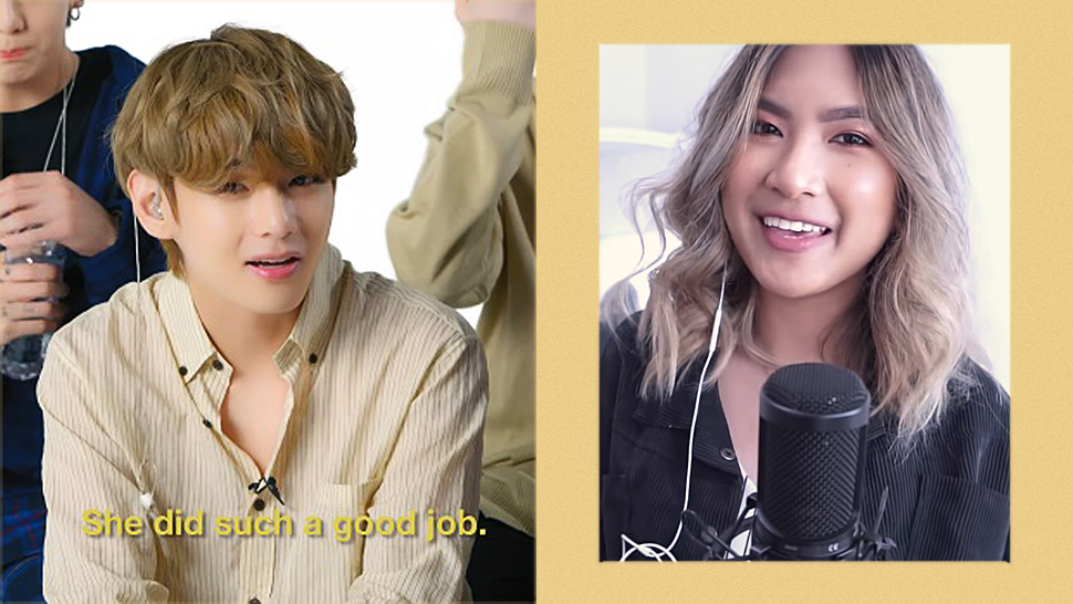 "Bts Just Reacted And Praised This Filipina's Cover Of Their Song ""boy With Luv"""