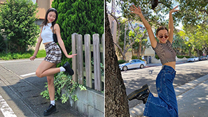 "Do The ""foot-pop"": The Cool New Instagram Pose Influencers Are Doing"