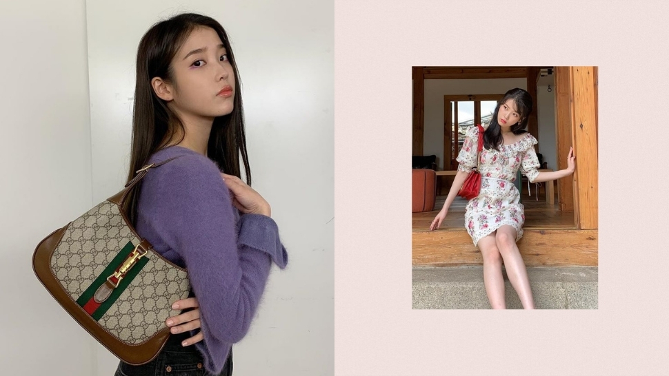 IU's Designer Bag Collection Includes a Lot of Gucci Pieces