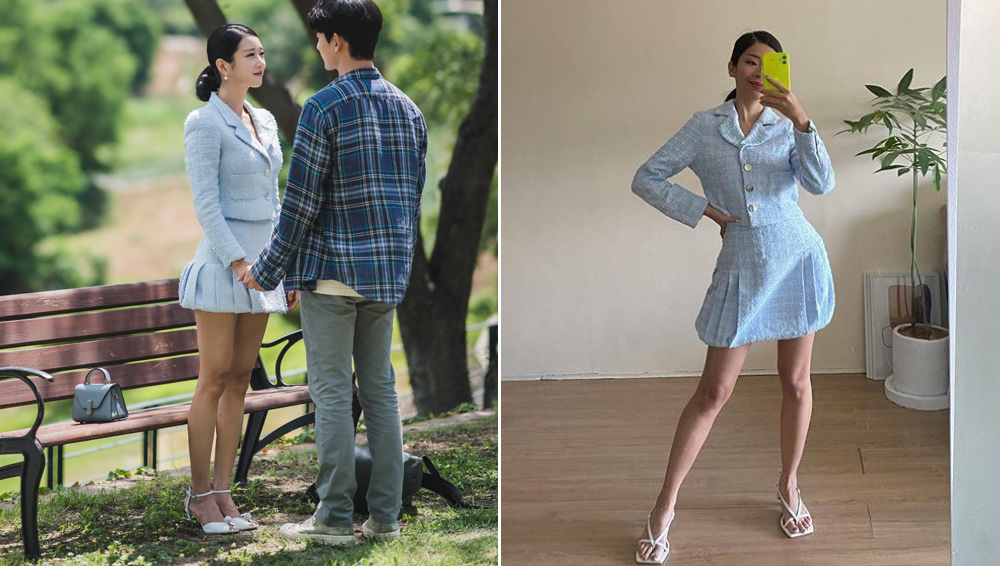 rhea bue recreates seo ye ji's looks from it's okay to not be okay