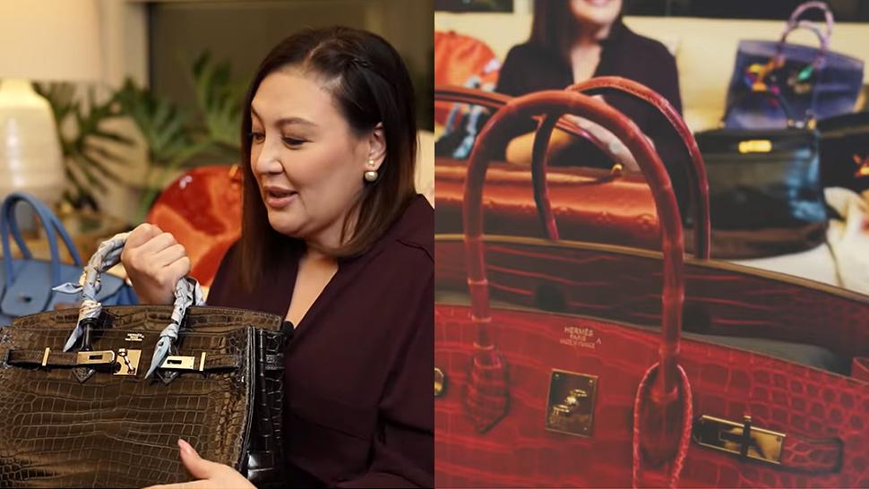 """Sharon Cuneta On Who Will Inherit Her Bags: """"kung Sino Ang Pinakamabait"""""""