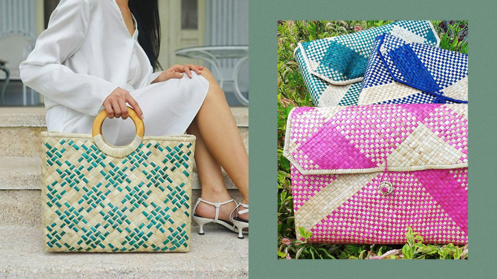 This Filipino Brand Makes Handwoven Bags, Totes, and Clutches