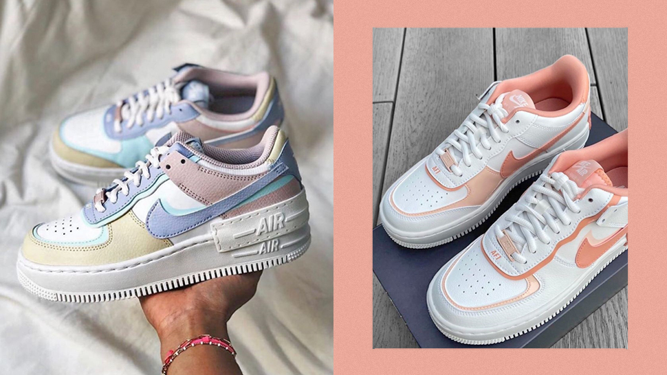 These Nike Air Force 1 Sneakers Come in the Prettiest Pastel Colors
