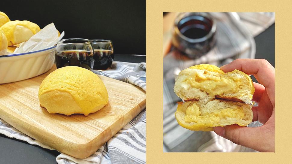 You Need to Try This Leche Flan Stuffed Pan De Sal