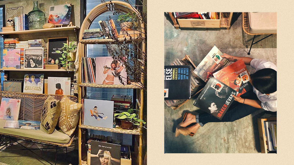 Check Out This Instagrammable Record Shop's Cool Hippie Aesthetic