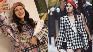 Bela Padilla Dressed Up As Emily Cooper For Halloween And We're Living For It!