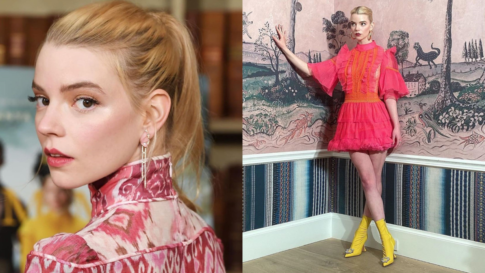 "5 Stylish Ways To Wear A Dress, According To Anya Taylor-joy Of ""the Queen's Gambit"""