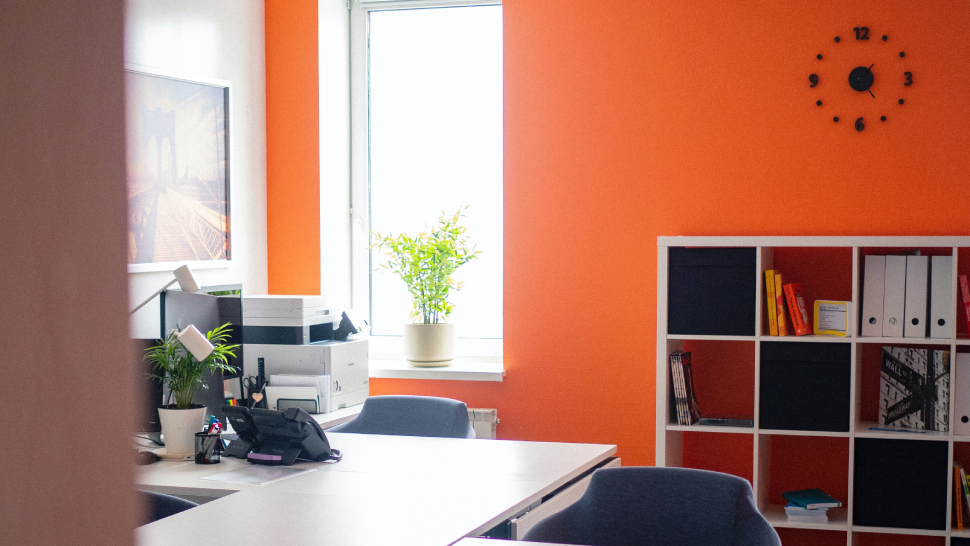 The Best Paint Color For Your Home Office, Plus Feng Shui Tips On Where To Use It
