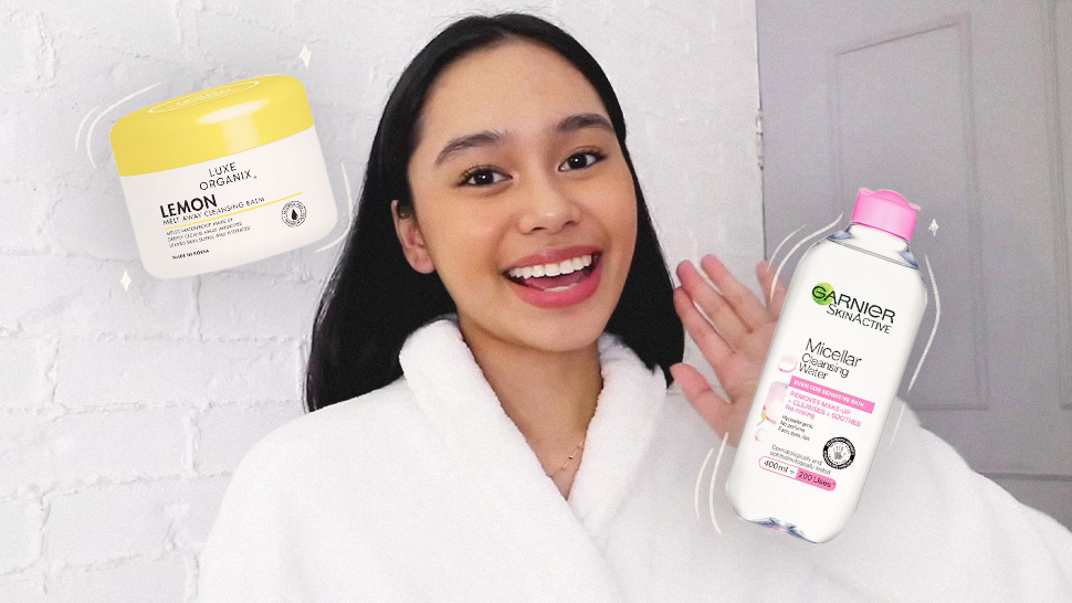 YouTuber Arabella Racelis Removes Her Makeup Using Budget-Friendly Products