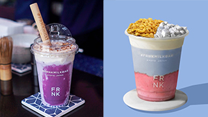 These Instagrammable New Drinks From Frnk Are Too Pretty To Drink