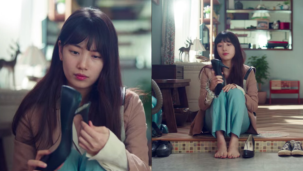 bae suzy shoes in kdrama start-up